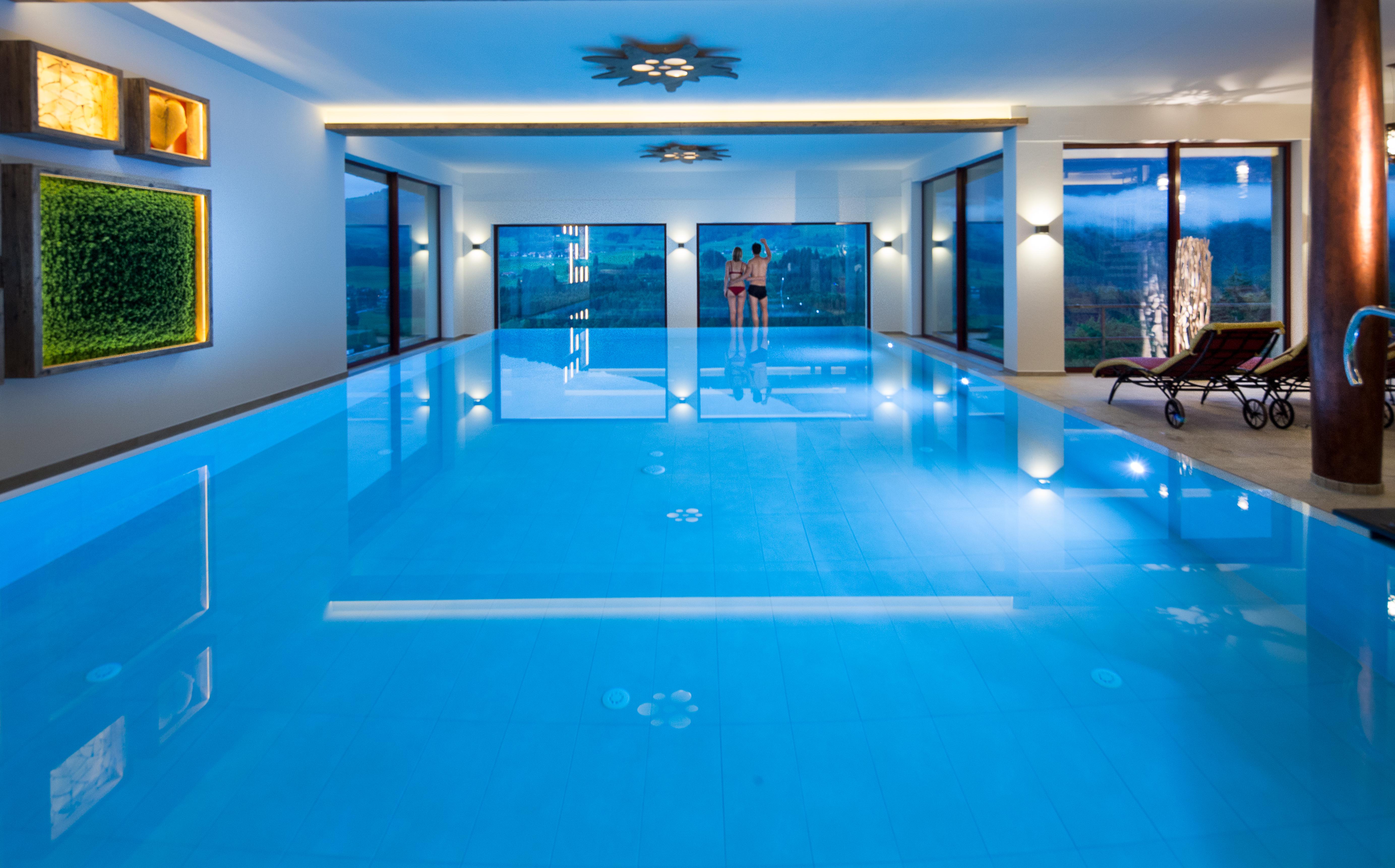 Infinity Pool Deutschland 4 hotel in fischen im allgäu hotel tanneck