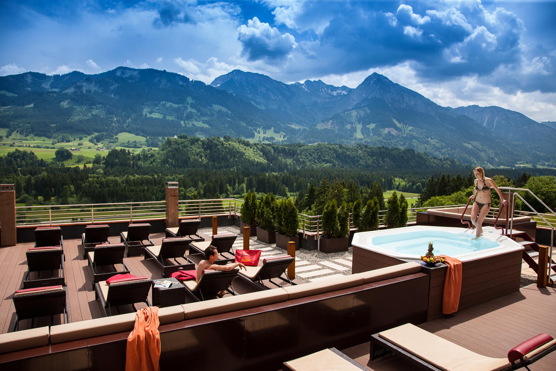 4 Sterne Hotel In Fischen Im Allgau Hotel Tanneck